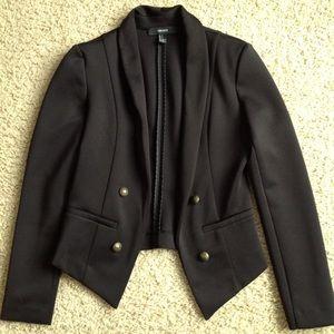 Black stretchy blazer
